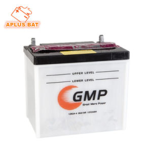 Rechargeable Storage 12n24-4 26A19r 12V24ah Dry Charge Lawn Mower Battery pictures & photos