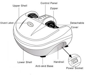 Foot SPA Massager Reflexology, Body Care Foot Massage pictures & photos