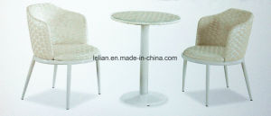 Public Area Solid Wooden Material Coffee Table and Chair Set (LL-WST013) pictures & photos
