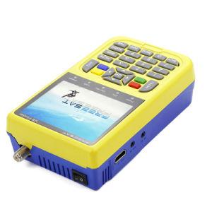 HD FTA Digital TV Freesat V8 Finder 3000mA Lithium Battery Digital Satellite Finder Meter DVB-S pictures & photos