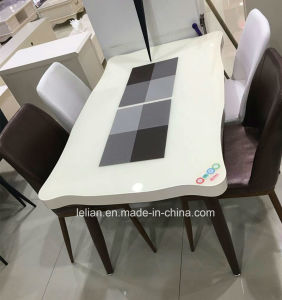 Heavy Duty Dining Table Set Dining Table and Chair (LL-WST008) pictures & photos