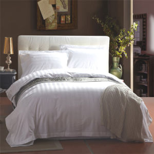 Hotel Supply 60s 100% Cotton Bedding Set pictures & photos