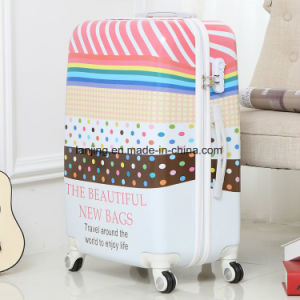 """Hard Shell 20""""/24""""/28""""Size Colourful Travel Trolley Luggage Bag pictures & photos"""