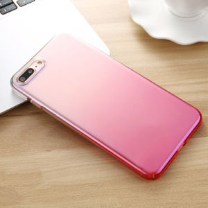 Fashion Gradient Color Transparent Hard Phone Case Cover for iPhone6/7/8 pictures & photos