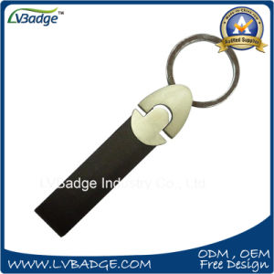 High Quality PU Leather Keychains pictures & photos