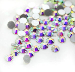 Ss34 2088 Wholesale Glass AAA Quality Flat Back Non Hotfix Crystal Rhinestone (FB-ss34 crystal ab) pictures & photos