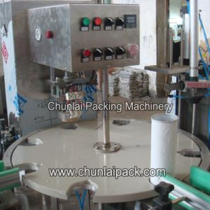 Potato Chips Canister Packaging Sealing Machine pictures & photos