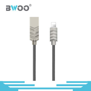 New Colorful USB Cable with Metal Connector for Type-C/Lightning/Micro pictures & photos