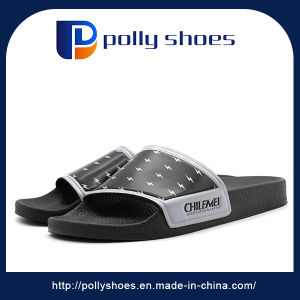 Comfortable Soft Foam Leather Sole PU Slippers for Indoor Outdoor pictures & photos