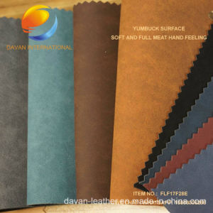 Best Selling Artifical Leather for Shoe Material Flf17f28e pictures & photos