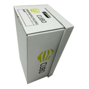 Custom White Archive Box with Logo Printing pictures & photos