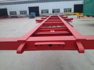 Tri-Axle 60 Ton 40FT Container Semi-Trailer pictures & photos