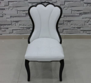 Oak Wood with Leather Dining Chair Hotel Dining Chair (M-X1017) pictures & photos