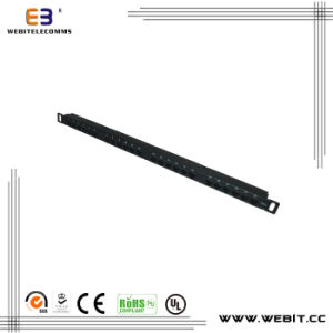 19′ 0.5u CAT6 UTP Patch Panel with Vertical Version pictures & photos