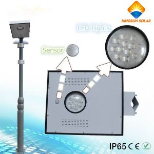 8W Integrated Solar LED Street Light pictures & photos