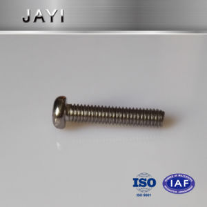 Pan Head Cross Drives Carbon Steel Machine Screw with Nickel Plated pictures & photos