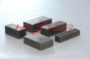 China Manufacturer Chromium Carbide Casting 63HRC Domite Bi-Metallic Wear Block pictures & photos