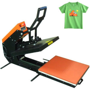 Semi-Auto Magnetic Drawing T-Shirt Heat Press Machine pictures & photos