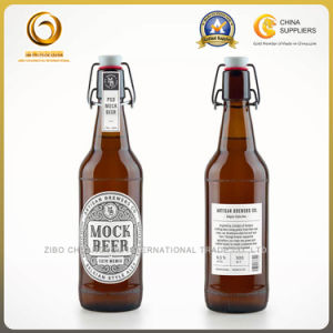 Super Quality 500ml Glass Beer Bottles with Flip Cap (358) pictures & photos
