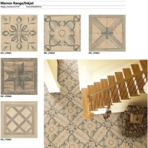 3D Inkjet Glazed Ceramic White Floor Porcelain Tile at Carpet Design