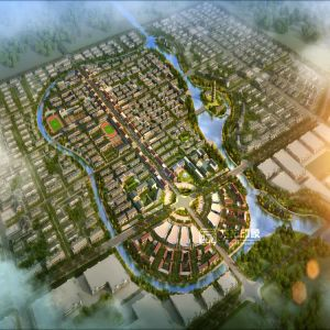 Renliji City Planning Architectural Rendering Project