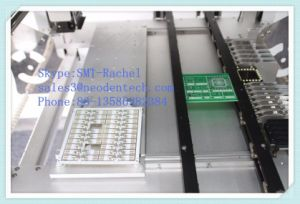 Hot Sale SMT Production Line Equipment Pick and Place Machine with Camera pictures & photos