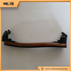 Adjustable Wooden Violin Shoulder Rest with 5mm Sponge Base for 4/4 3/4 pictures & photos