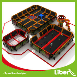 Liben Business Plan Children Adults Indoor Trampoline Court pictures & photos