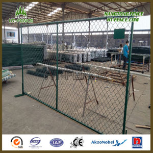 Chain Link PVC Coated Temporary Panel pictures & photos