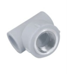 PPR Water Supply Pipe Fitting, Female Screw Tee
