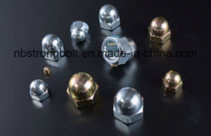 High Quality One Piece Type Carbon Steel DIN1587 Hexagon Dome Cap Nut pictures & photos