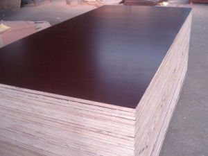 Brown Film Faced Plywood with WBP Glue (18mm) pictures & photos