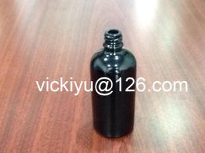 100ml Essential Oil Black Glass Bottles, Violet Black Glass Bottles for Lotion pictures & photos
