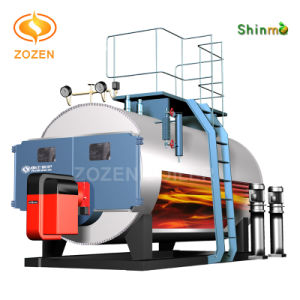 Full Automation Compact Gas Fired Wet Back Steam Boiler
