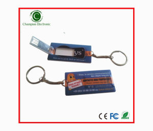 Mini Name Card USB Pen Drive USB Stick with Keyring