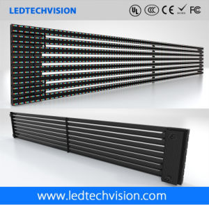 P16mm Curtain Strips Outdoor LED Advertising Board pictures & photos