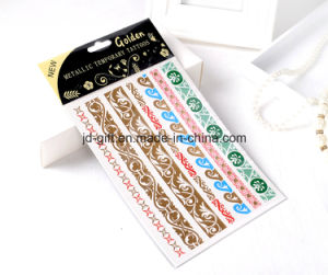 New Design Metallic Fashion Tattoo Sticker for Wholesales pictures & photos