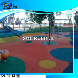 Colorful Outdoor Playground Flooring EPDM Rubber Granules pictures & photos