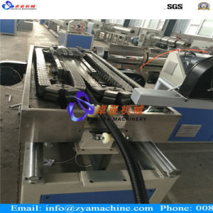 PP/PE/PVC Single Wall Corrugated Pipe Extruder Machine pictures & photos