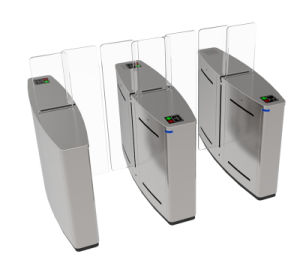 RFID Card Controlled Full Height Sliding Gate Turnstile pictures & photos