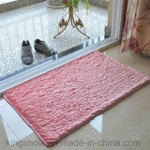 Home Tufted Microfiber Polyester Floor Rugs Door Mat (40*60)
