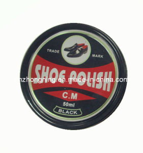 High Quality Solid Shoe Polisher in Metal Case (SP009)
