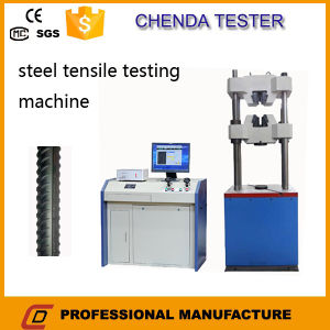300kn Computerized Hydraulic Universal Testing Machine for Ancor Tensile Strength Test pictures & photos