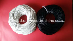 Hot Sale! 3mm Round White and Navy Leather Cord pictures & photos