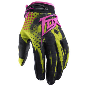 Yellow Hot Sale Sports Gloves for Motorcycle/Bicycle Rider (MAG11) pictures & photos