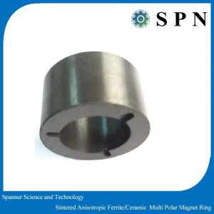 Ceramic Ferrite Performance Sintered Magnet Rings for Air Conditioner pictures & photos