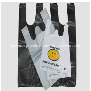 Plastic Carrier Bags with Shopping or Household