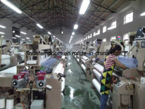 High Speed Dobby Water Jet Loom with Electronic Double Nozzle pictures & photos
