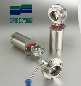Stainless Steel Sanitary Pneumatic Valve pictures & photos