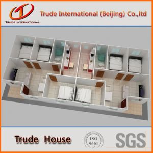 Customized Fast Installation Modular/Mobile/Prefab/Prefabricated Family Living House pictures & photos